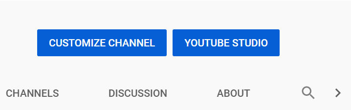 click on the youtube studio button